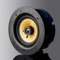 "Lithe Audio 6.5"" 2 Way Passive Slave Ceiling Speaker Single 01556"